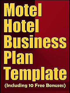 Amazoncom Progressive Business Plan For A Boutique Hotel A - Boutique hotel business plan template