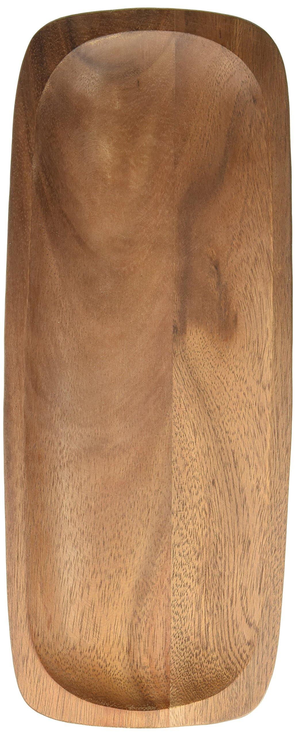 Noritake Kona Wood 15-Inch Rectangular Platter