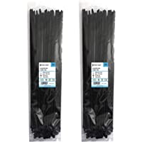 intervisio Heavy-Duty 430 mm x 4.8 mm kabelbinders lang, duurzaam, professionele uv-bestendige wikkel Nylon groot snoer…