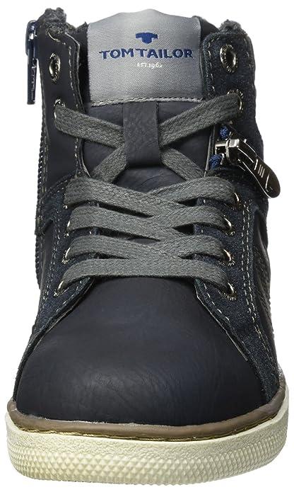 [tg.32] Tom Tailor 3770403, Sneaker A Collo Alto Bambino
