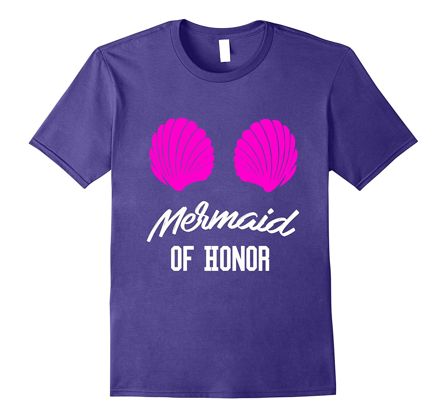Maid of Honor Shirt - Mermaid of Honor - Wedding Gift Ideas-Art