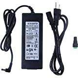 ALITOVE AC 100-240V to DC 24V 5A Power Supply Adapter Converter Charger with 5.5x2.1mm DC Output Jack for 5050 3528 LED Strip Module Light