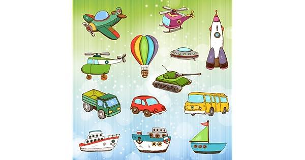 Vehículos y coches para colorear para niños y pequeños ...