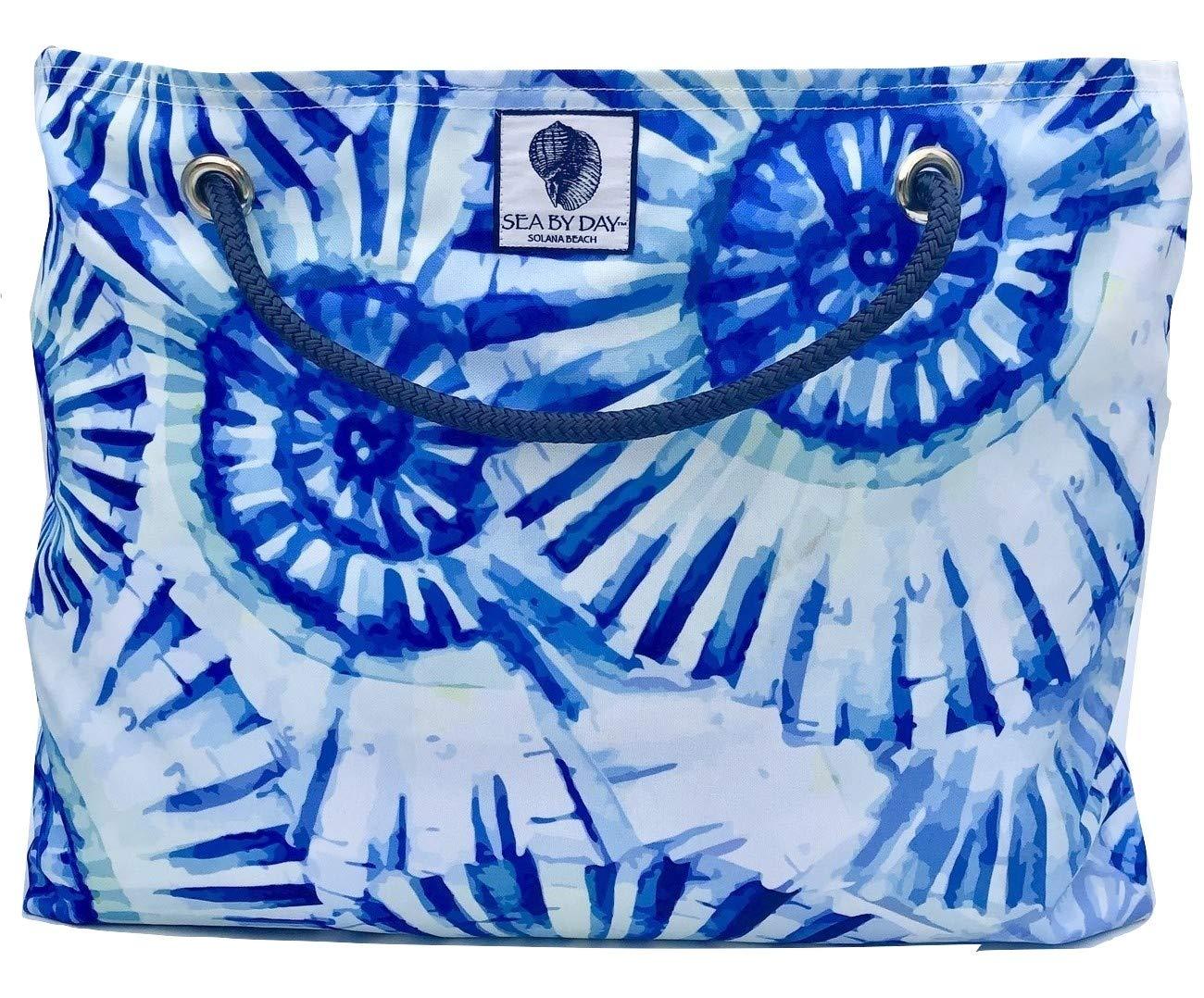 Classic Beach Bag, Pool Bag or Travel Tote- California Style Water Resistant (Shelltastic)