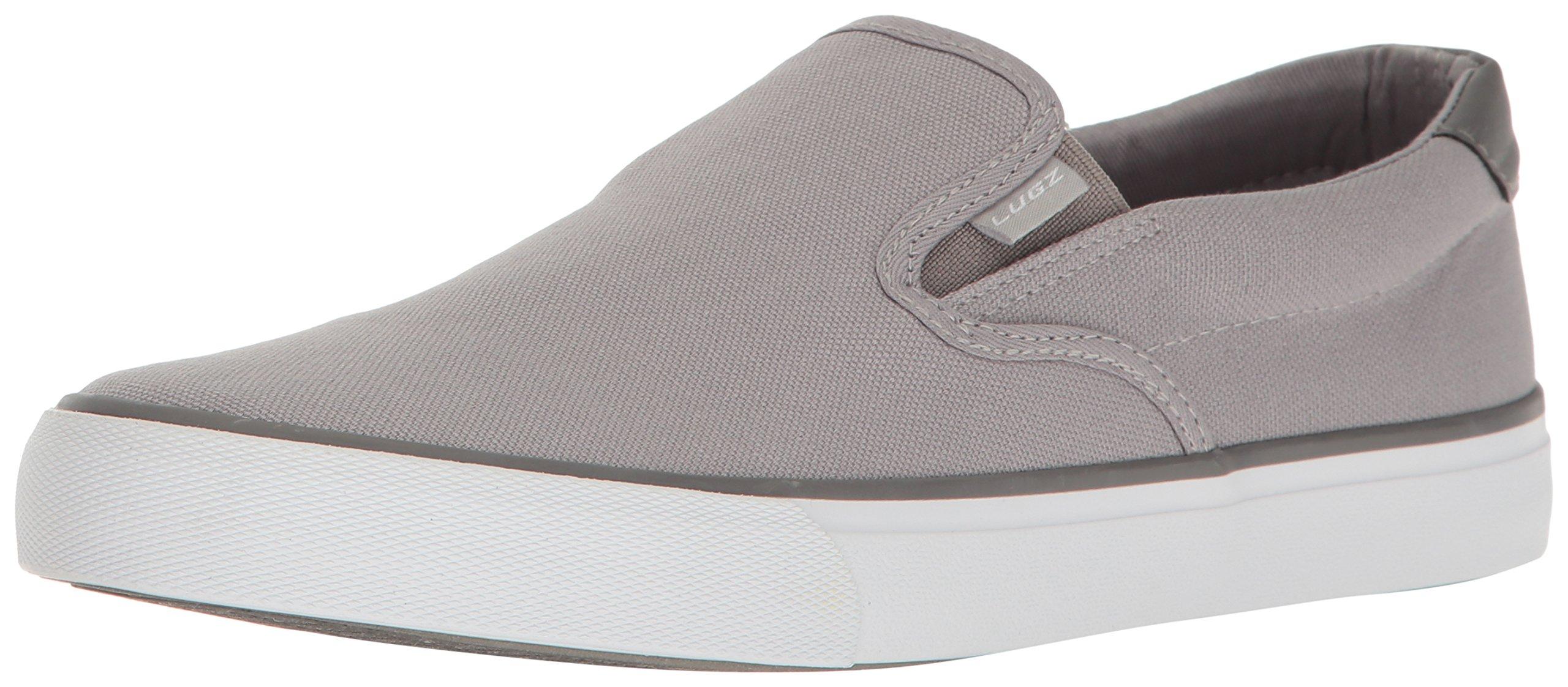 Lugz Men's Clipper Fashion Sneaker, Alloy/Charcoal/White, 12 M US