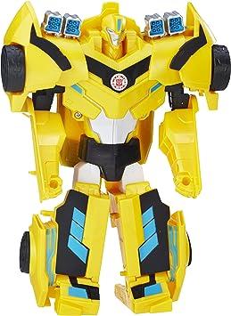 Transformers Figura Bumblebee Rid, 3 Pasos mágicos (Hasbro ...