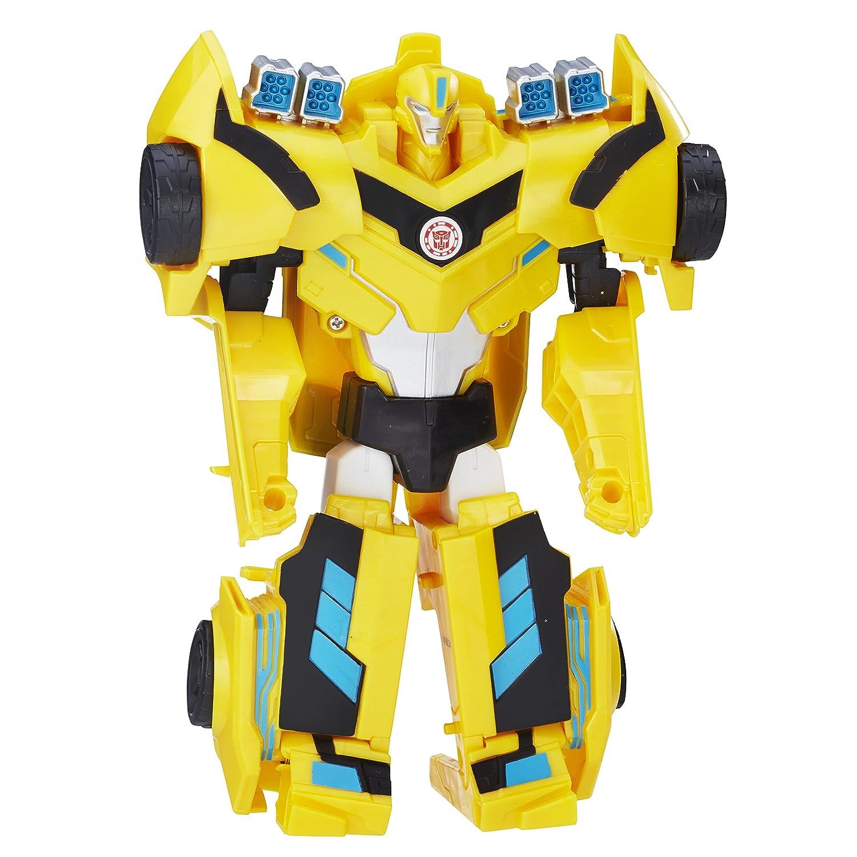 Hasbro Transformers C0641Es0 - Robots In Disguise Hyperchange Heroes 3-Step Bumblebee, Actionfigur C0641EL20