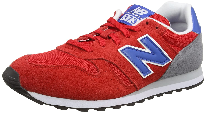 New Balance MD373 Lifestyle - Zapatillas de Deporte para Hombre 41 1/3 EU|Rojo