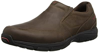 Rockport Men's Make Your Path Slip-On Chocolate 8.5 W ...