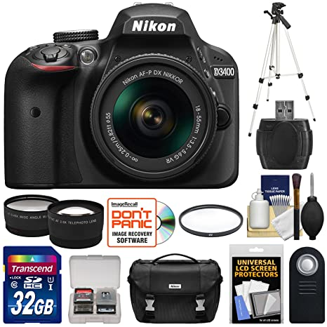 Review Nikon D3400 Digital SLR