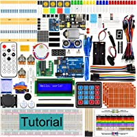Freenove Ultimate Starter Kit with UNO R3 (Compatible with Arduino), 260 Pages Detailed Tutorial, 217 Items, 51 Projects, Solderless Breadboard