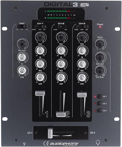 Audiophony – Mesa de mezclas: Amazon.es: Instrumentos musicales