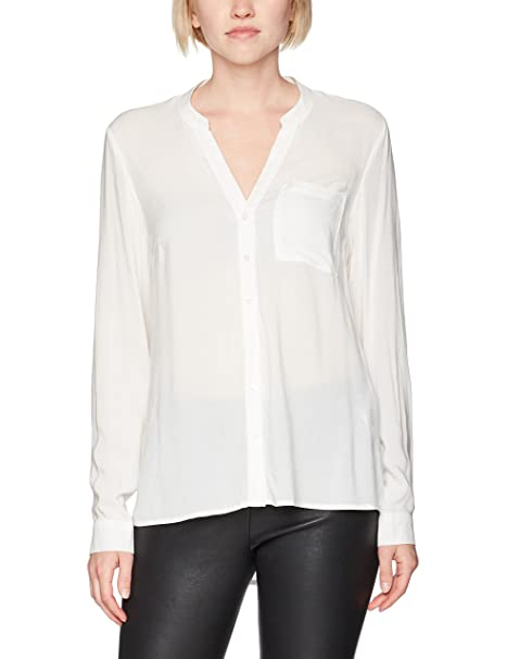 Vero Moda Vmsue Ella L/S Shirt Noos, Blusa para Mujer, Blanco (