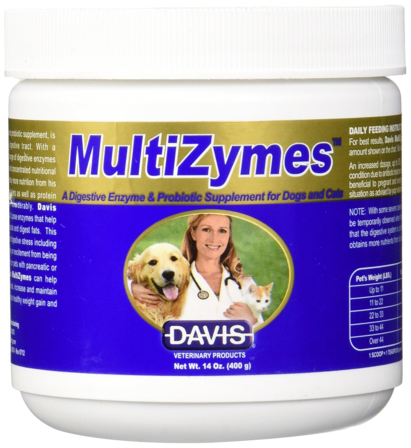 Davis MultiZymes Nutritional Supplement, 14 oz