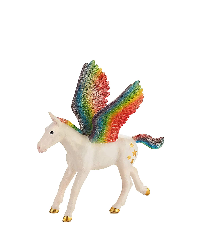 MOJO Pegasus Baby Rainbow Toy Figure
