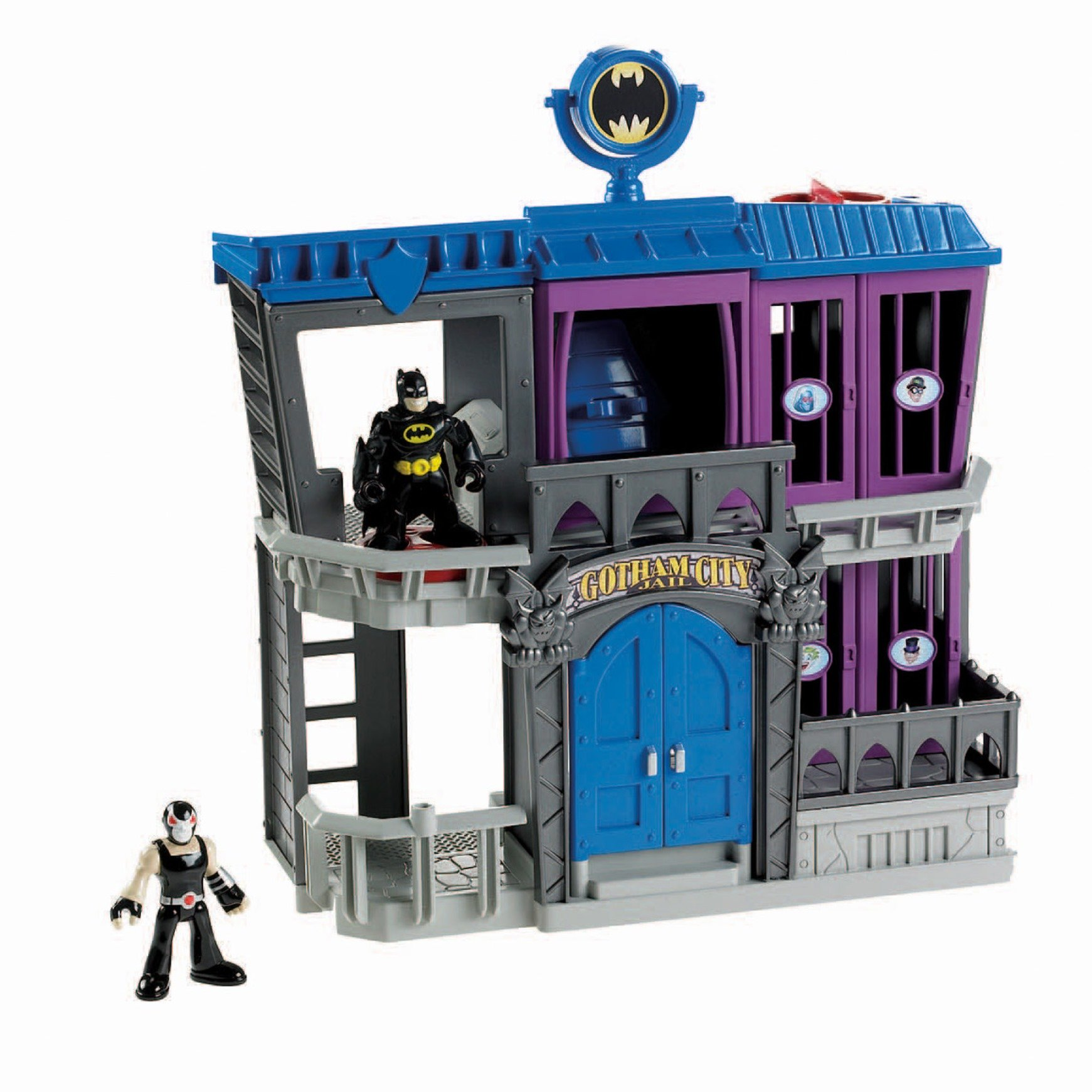 Fisher-Price Imaginext DC Super Friends, Gotham City Jail by Fisher-Price