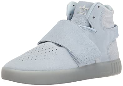 0e41c740571f adidas Originals Women s Tubular Invader Strap Fashion Running Shoe Easy  Blue Pearl Opal