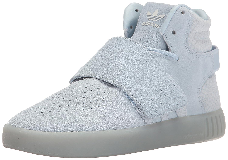 adidas Originals Women's Tubular Invader Strap Fashion Sneakers B01HNIQQY0 9 M US|Easy Blue/Easy Blue/Pearl Opal