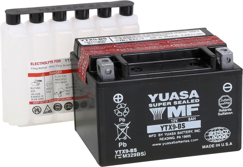 Yuasa YUAM329BS YTX9-BS Battery