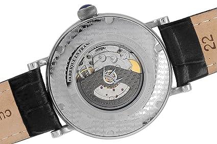 Herren Yongeramp; Analog Leder Bresson Armbanduhr Automatik Ybh Cerny BoQCxrdWEe