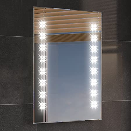 500 X 700 Mm Illuminated Led Bathroom Mirror Backlit Light Sensor