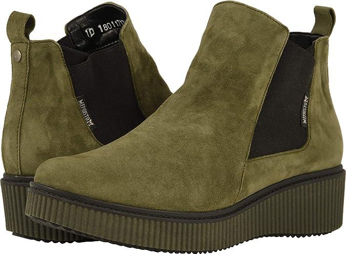 e007fda5f46 Amazon.com | Mephisto Womens Emie Nubuck Boots | Boots