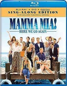 Mamma Mia! Here We Go Again Sing-Along Edition Blu-ray + DVD + Digital