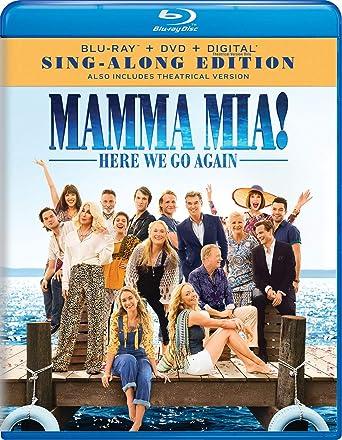 Mamma Mia: Here We Go Again 2 Blu-Ray Edizione: Stati Uniti Italia ...