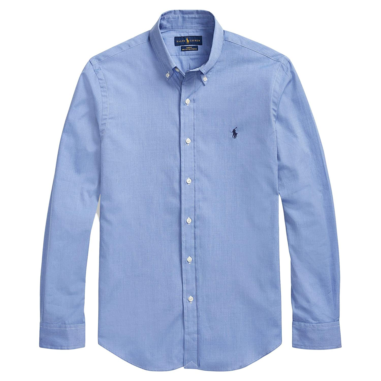 Polo Ralph Lauren Mens Solid Poplin Sport Shirt At Amazon Mens