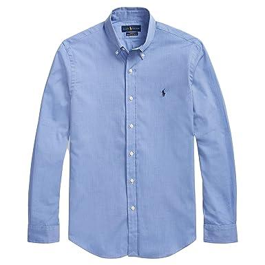 5e9aed0deda Polo Ralph Lauren Men s Solid Poplin Sport Shirt at Amazon Men s ...
