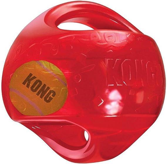 Juguete para perros Kong Jumbler Ball [2 tamaños]: Amazon.es ...
