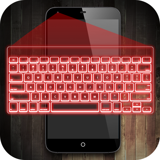 Hologram keyboard 3D (Android Projector Keyboard)