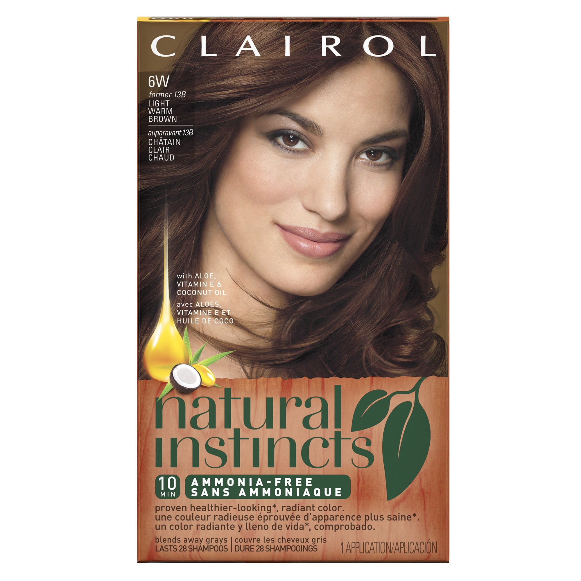Amazon.com : Clairol Natural Instincts Semi-Permanent Hair Color ...