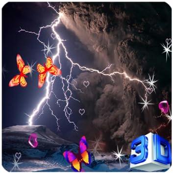 Amazoncom 3d Lightning Storm Live Wallpaper Appstore For