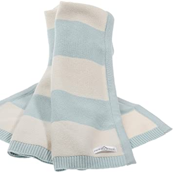 Babydecke Aus 100 Bio Baumwolle Kuschelige Strickdecke Ideal Als