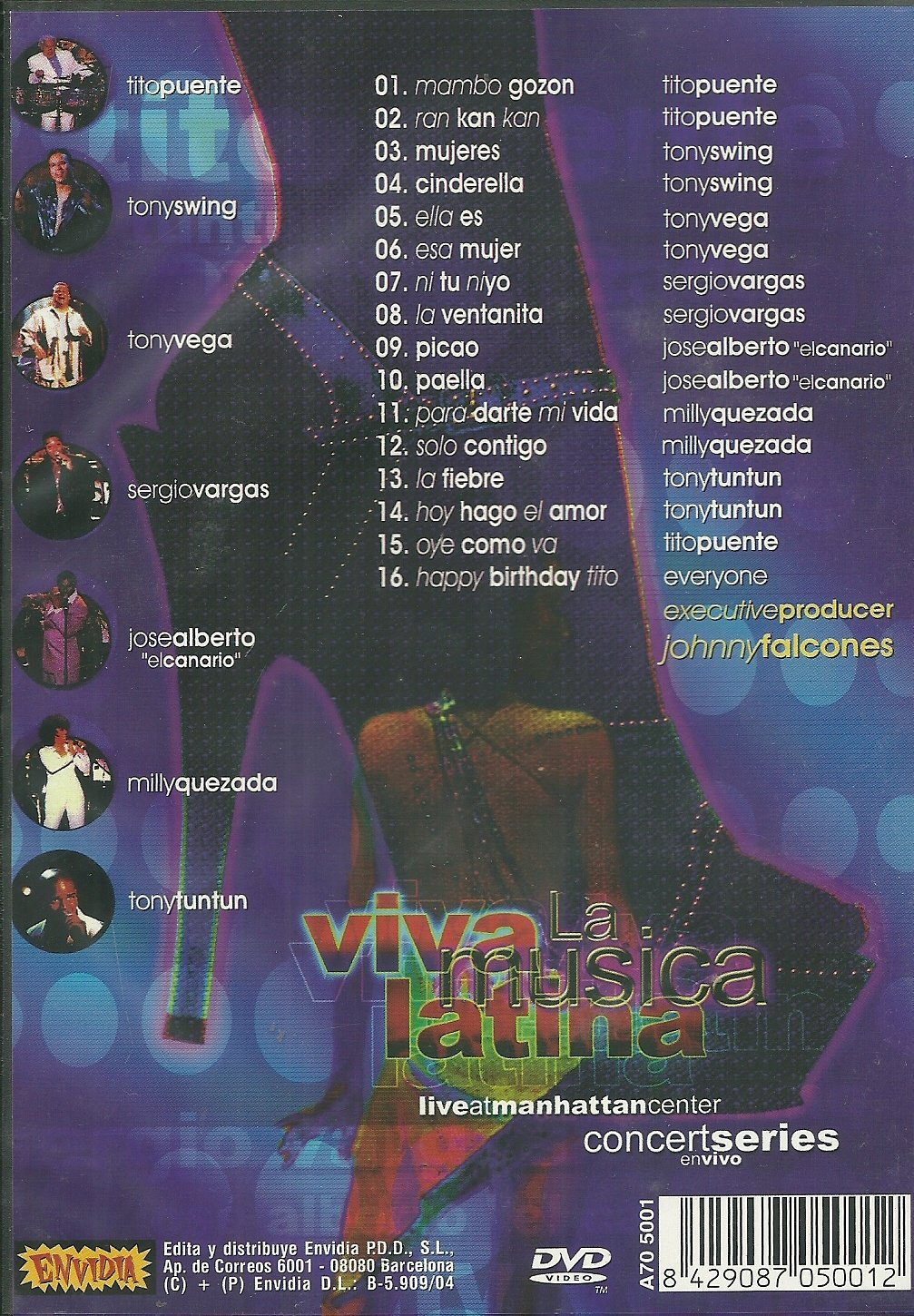 Viva la Musica Latina: Live at Manhattan Center by Viva 101