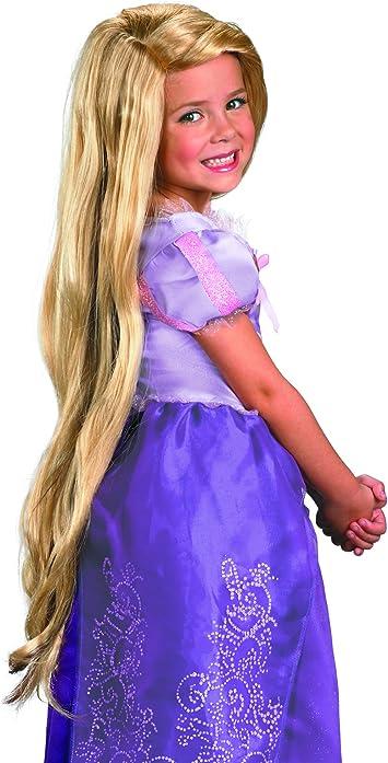 Disfraz 198.327 Tangled Rapunzel-peluca-Ni-o: Amazon.es: Juguetes ...