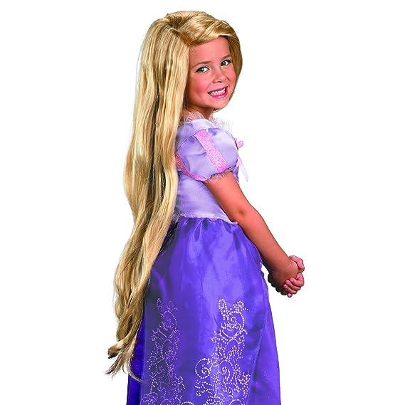 Amazon.com: Peluca de Rapunzel enredada (niño): Toys & Games
