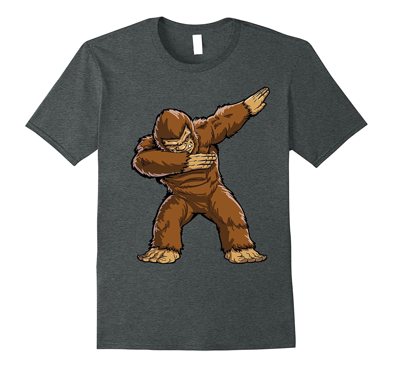 664da6a67 Bigfoot Sasquatch Dabbing T Shirt Funny Dab Monster Gifts-ANZ ...