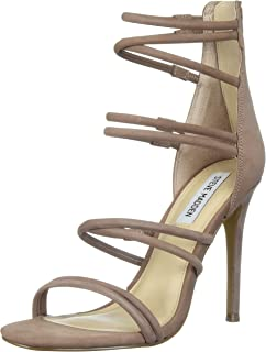 184c07813d7 Amazon.com  Steve Madden Women s Flaunt Heeled Sandal  Steve Madden ...