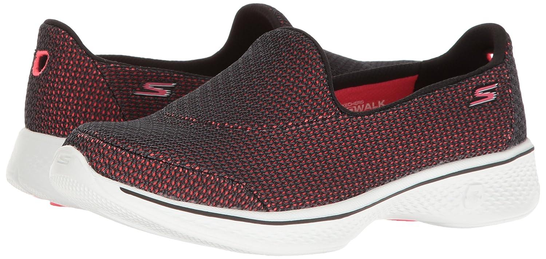 Skechers Performance Women's Go Walk 4 Majestic Walking Shoe B01IIZIK28 7.5 B(M) US|Black/Hot Pink