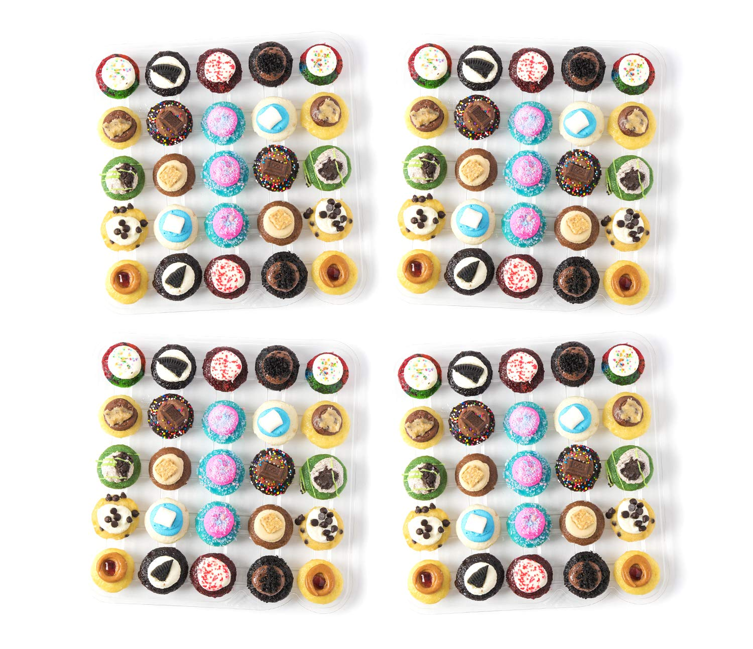 Baked by Melissa Cupcakes The Latest & Greatest - Assorted Bite-Size Cupcakes, 100 Count