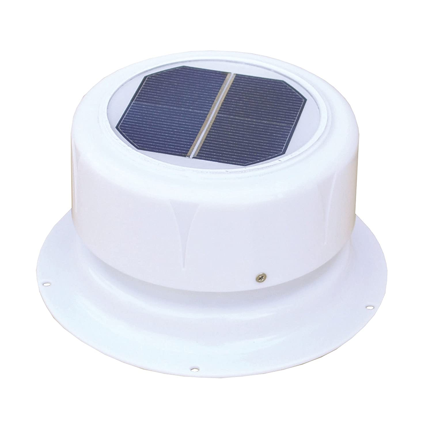 Small solar lights for crafts - Ultra Fab 53 945001 Mini Solar Plumbing Vent White