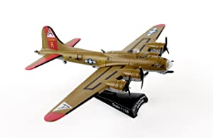 Postage Stamp PS5402-3 USAF B-17G Nine O Nine 1:155 Scale Flying Fortress Diecast Display Model with Stand