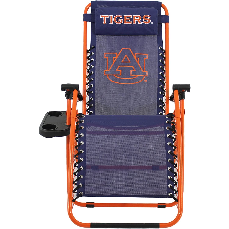 Amazon.com : College Covers Auburn Tigers Zero Gravity Chair : Sports Fan  Sofas : Sports U0026 Outdoors