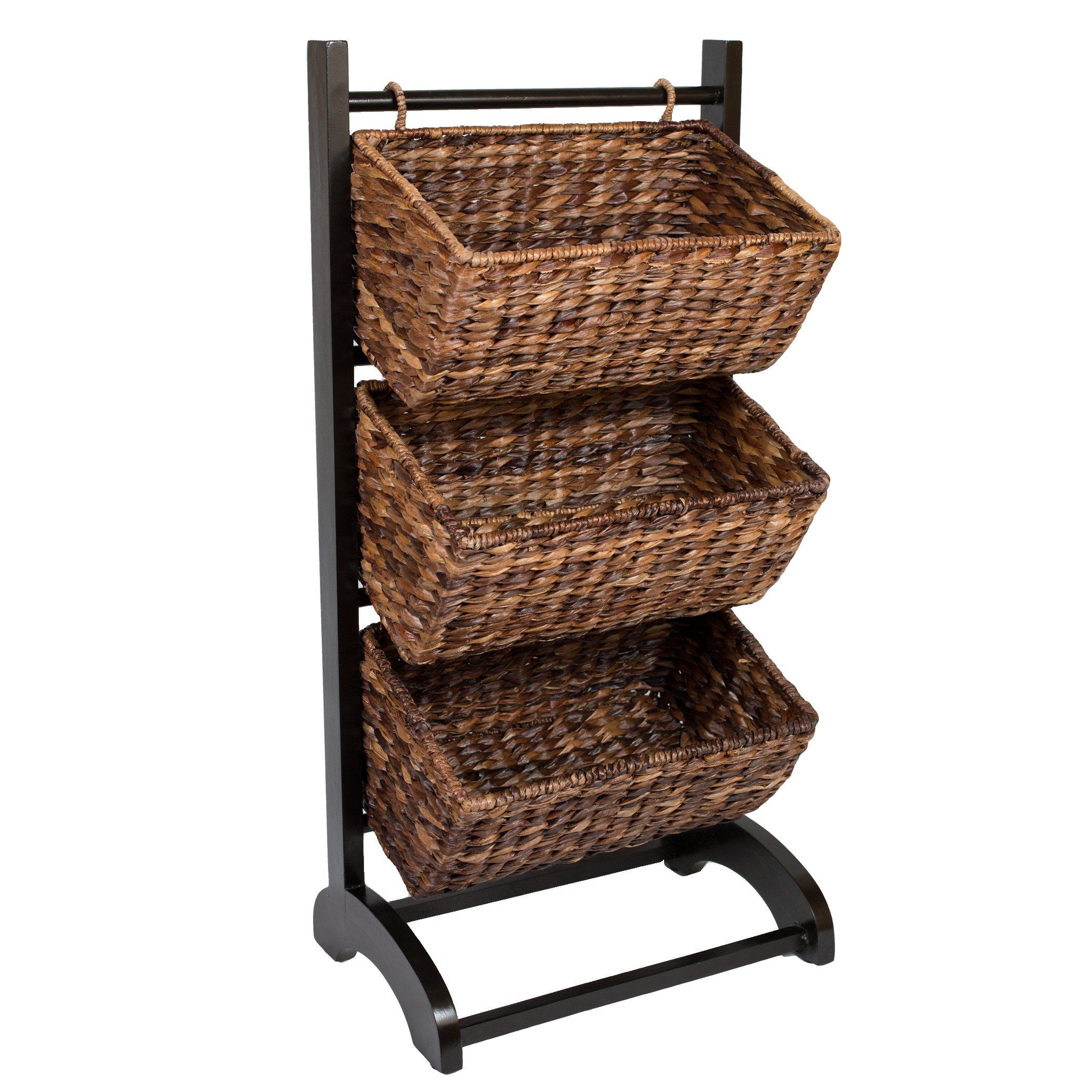 Birrock Home 3-tier Storage Organizer Cubby