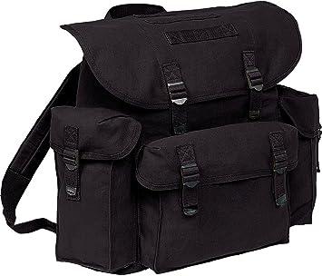 compras sitio de buena reputación salida online BW de mochila XL militar de mochilas Negro Hombre Mujer alta ...