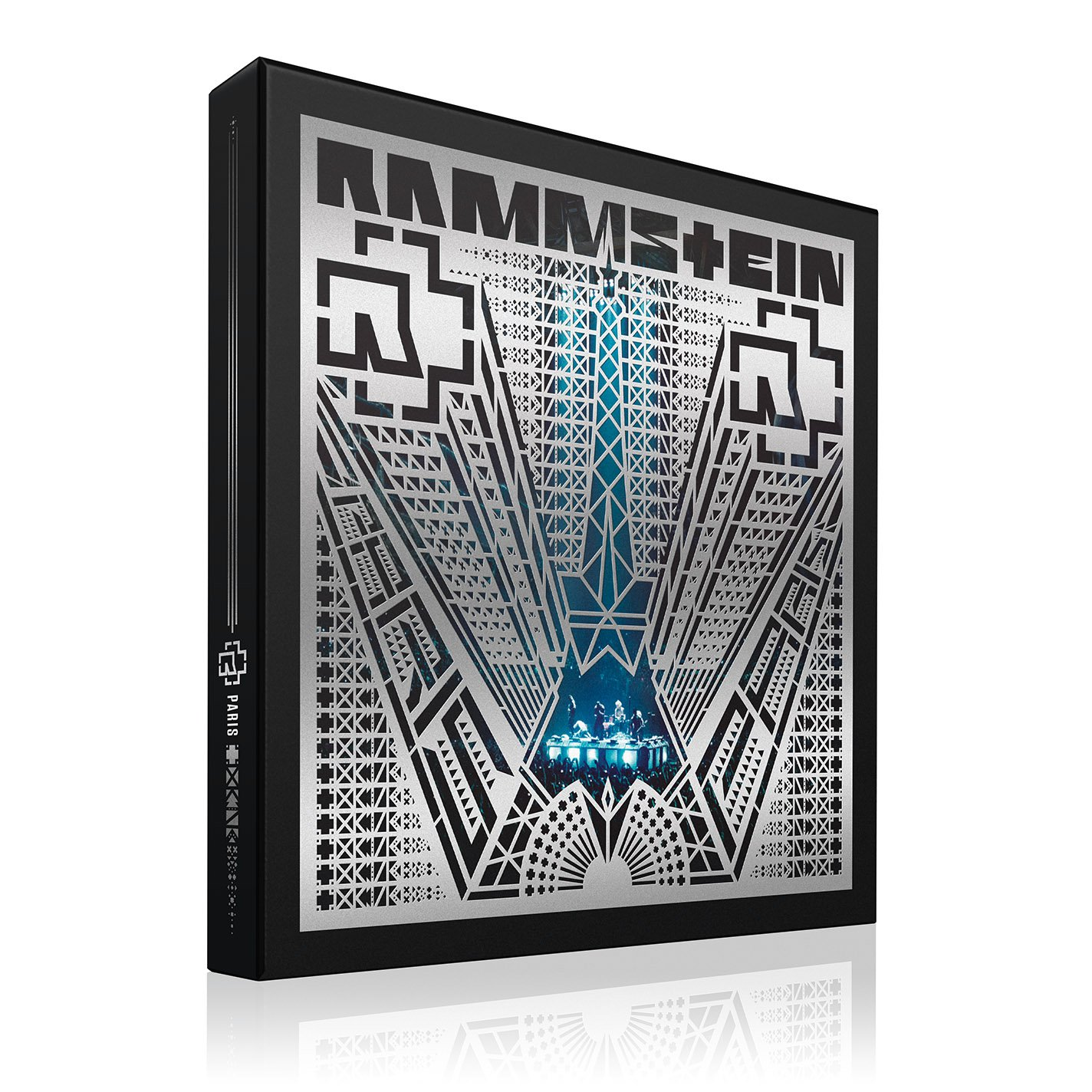 RAMMSTEIN: PARIS [4 LP/2 CD/Blu-Ray][Deluxe Edition][Blue by Spinefarm