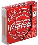 Coca Cola Untersetzer, Unterseite aus Kork, rot, 6Stück