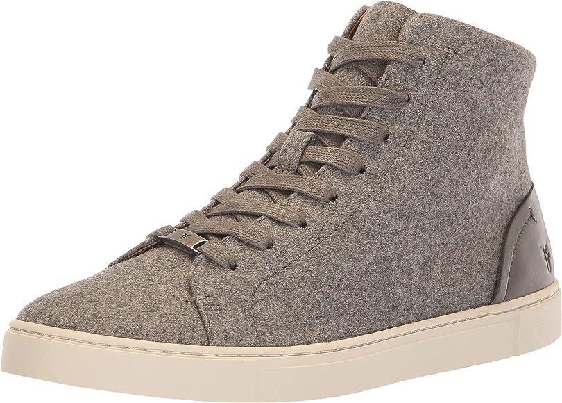 Frye Women's Ivy High Top Sneaker, Grey